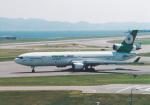 プルシアンブルーさんが、関西国際空港で撮影したエバー航空 MD-11の航空フォト(写真)