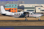 Chofu Spotter Ariaさんが、八尾空港で撮影した朝日航空 208B Grand Caravanの航空フォト(飛行機 写真・画像)