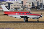Chofu Spotter Ariaさんが、八尾空港で撮影した日本個人所有 PA-46-350P Malibu Mirageの航空フォト(飛行機 写真・画像)