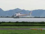sp3混成軌道さんが、岡南飛行場で撮影したグラフィック AS350B2 Ecureuilの航空フォト(写真)