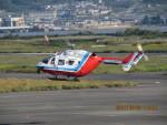 sp3混成軌道さんが、岡南飛行場で撮影した山口県消防防災航空隊 BK117C-1の航空フォト(写真)