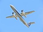 おっつんさんが、福岡空港で撮影したANAウイングス DHC-8-402Q Dash 8の航空フォト(飛行機 写真・画像)