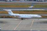 たまさんが、羽田空港で撮影した万達集団 Gulfstream G650ER (G-VI)の航空フォト(写真)