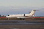 たまさんが、羽田空港で撮影した金蟷螂建築装飾会社 G-IV-X Gulfstream G450の航空フォト(写真)