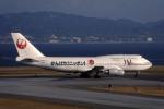 Gambardierさんが、関西国際空港で撮影した日本航空 747-446Dの航空フォト(写真)