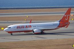 yabyanさんが、中部国際空港で撮影したチェジュ航空 737-86Qの航空フォト(写真)