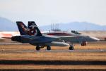 なごやんさんが、岩国空港で撮影したアメリカ海兵隊 F/A-18C Hornetの航空フォト(写真)