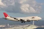 yuuki1214さんが、関西国際空港で撮影した日本航空 747-446の航空フォト(写真)