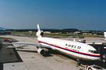 菊池 正人さんが、チューリッヒ空港で撮影したワールド・エアウェイズ MD-11CFの航空フォト(写真)