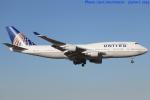 いおりさんが、成田国際空港で撮影したユナイテッド航空 747-422の航空フォト(写真)