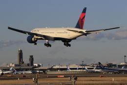 ☆ライダーさんが、成田国際空港で撮影したデルタ航空 777-232/LRの航空フォト(飛行機 写真・画像)