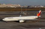 ハピネスさんが、羽田空港で撮影したフィリピン航空 A330-343Xの航空フォト(飛行機 写真・画像)
