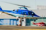 NCT310さんが、東京ヘリポートで撮影した日本デジタル研究所(JDL) A109E Powerの航空フォト(写真)