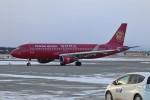 北の熊さんが、新千歳空港で撮影した吉祥航空 A320-214の航空フォト(写真)