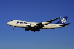 地主さんが、成田国際空港で撮影したポーラーエアカーゴ 747-46NF/SCDの航空フォト(写真)
