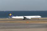 KKiSMさんが、羽田空港で撮影したルフトハンザドイツ航空 A340-642Xの航空フォト(写真)
