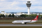 安芸あすかさんが、ミュンヘン・フランツヨーゼフシュトラウス空港で撮影したターキッシュ・エアラインズ 737-8F2の航空フォト(写真)