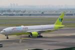 安芸あすかさんが、金浦国際空港で撮影したジンエアー 777-2B5/ERの航空フォト(写真)