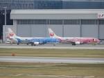 おっつんさんが、那覇空港で撮影した日本トランスオーシャン航空 737-4Q3の航空フォト(写真)