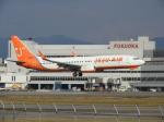 おっつんさんが、福岡空港で撮影したチェジュ航空 737-8ALの航空フォト(飛行機 写真・画像)