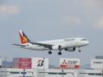 おっつんさんが、福岡空港で撮影したフィリピン航空 A320-214の航空フォト(写真)