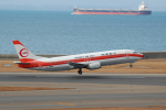mahlさんが、中部国際空港で撮影した日本トランスオーシャン航空 737-446の航空フォト(写真)