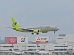 おっつんさんが、福岡空港で撮影したジンエアー 737-8SHの航空フォト(飛行機 写真・画像)