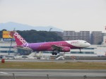 おっつんさんが、福岡空港で撮影したピーチ A320-214の航空フォト(飛行機 写真・画像)