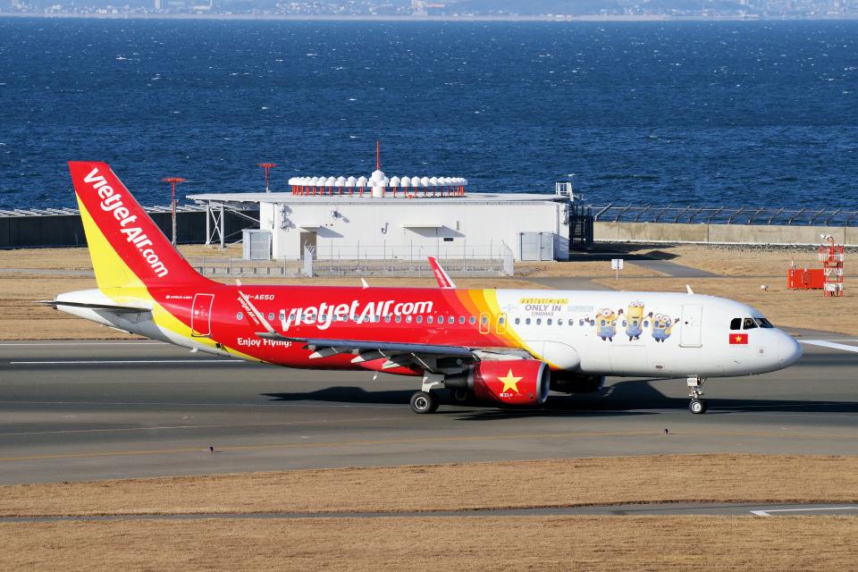 yabyanさんのベトジェットエア Airbus A320 (VN-A650) 航空フォト