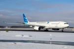 北の熊さんが、新千歳空港で撮影したガルーダ・インドネシア航空 A330-341の航空フォト(写真)