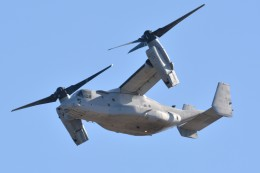 デルタおA330さんが、岩国空港で撮影したアメリカ海兵隊 MV-22Bの航空フォト(飛行機 写真・画像)