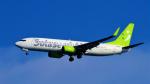 Ocean-Lightさんが、羽田空港で撮影したソラシド エア 737-86Nの航空フォト(写真)