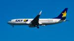 Ocean-Lightさんが、羽田空港で撮影したスカイマーク 737-8FZの航空フォト(写真)
