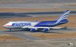 Asamaさんが、香港国際空港で撮影したナショナル・エア・カーゴ 747-428(BCF)の航空フォト(写真)
