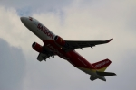 ハピネスさんが、関西国際空港で撮影したベトジェットエア A320-214の航空フォト(飛行機 写真・画像)