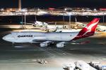 D-AWTRさんが、羽田空港で撮影したカンタス航空 747-438の航空フォト(写真)