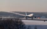 うみBOSEさんが、新千歳空港で撮影したガルーダ・インドネシア航空 A330-341の航空フォト(写真)
