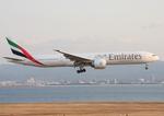 WING_ACEさんが、関西国際空港で撮影したエミレーツ航空 777-31H/ERの航空フォト(飛行機 写真・画像)