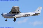 Chofu Spotter Ariaさんが、調布飛行場で撮影したジェイ・ディ・エル技研 172S Skyhawk SPの航空フォト(飛行機 写真・画像)
