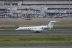 OS52さんが、羽田空港で撮影したガルフストリーム・エアロスペース G500/G550 (G-V)の航空フォト(写真)