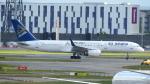 誘喜さんが、ロンドン・ヒースロー空港で撮影したエア・アスタナ 757-23Nの航空フォト(写真)