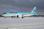 北の熊さんが、新千歳空港で撮影した大韓航空 BD-500-1A11 CSeries CS300の航空フォト(写真)