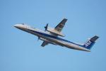 FRTさんが、松山空港で撮影したANAウイングス DHC-8-402Q Dash 8の航空フォト(飛行機 写真・画像)