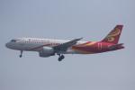 いっとくさんが、上海虹橋国際空港で撮影した雲南祥鵬航空 A320-214の航空フォト(写真)
