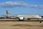 トロピカルさんが、成田国際空港で撮影したエティハド航空 787-9の航空フォト(写真)