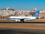 delawakaさんが、大連周水子国際空港で撮影した中国南方航空 A319-132の航空フォト(写真)