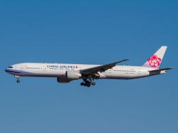 Mame @ TYOさんが、成田国際空港で撮影したチャイナエアライン 777-309/ERの航空フォト(写真)