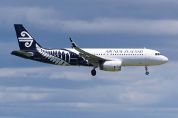 PASSENGERさんが、オークランド空港で撮影したニュージーランド航空 A320-232の航空フォト(写真)