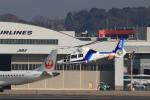 T.Sazenさんが、伊丹空港で撮影したオールニッポンヘリコプター AS365N3 Dauphin 2の航空フォト(飛行機 写真・画像)