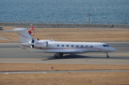 yabyanさんが、中部国際空港で撮影したアメリカ個人所有 G500/G550 (G-V)の航空フォト(飛行機 写真・画像)